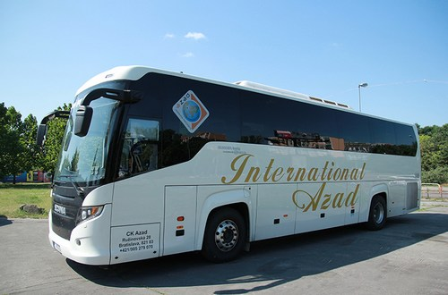 Scania Irizar Touring - International Azad - autobusová doprava